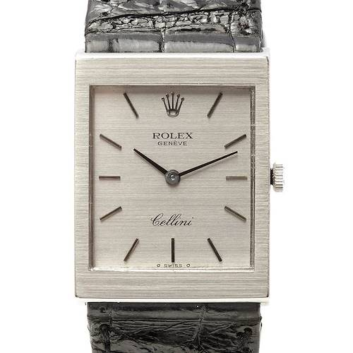Photo of Rolex Cellini Vintage 18k White Gold 4014