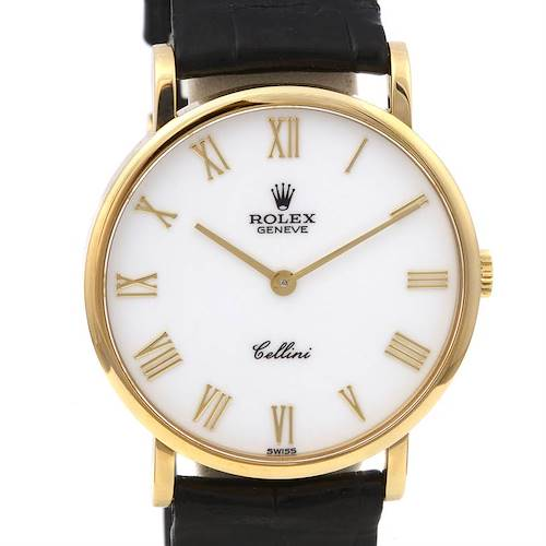 Photo of Rolex Cellini Classic Watch 18k Yellow Gold 5112