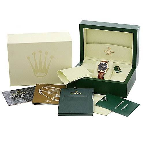 2368 Rolex Cellini Danaos 4233 18k White/rose Gold SwissWatchExpo