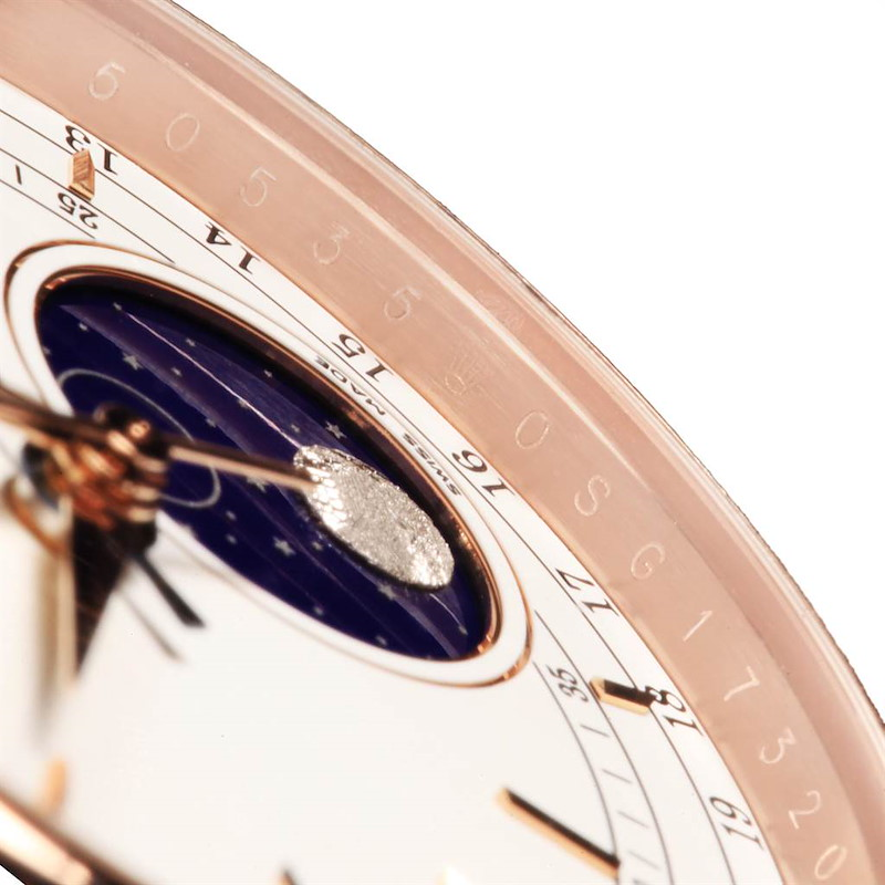 Rolex Cellini Moonphase Everose Rose Gold Automatic Mens Watch 50535 SwissWatchExpo