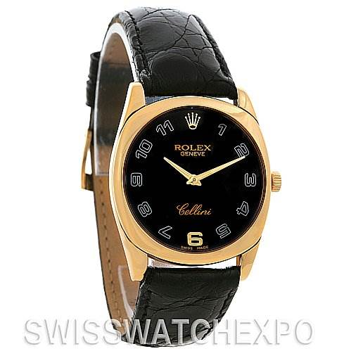 Rolex Cellini Danaos 4233 18k Yellow Gold Year 2008-09 SwissWatchExpo