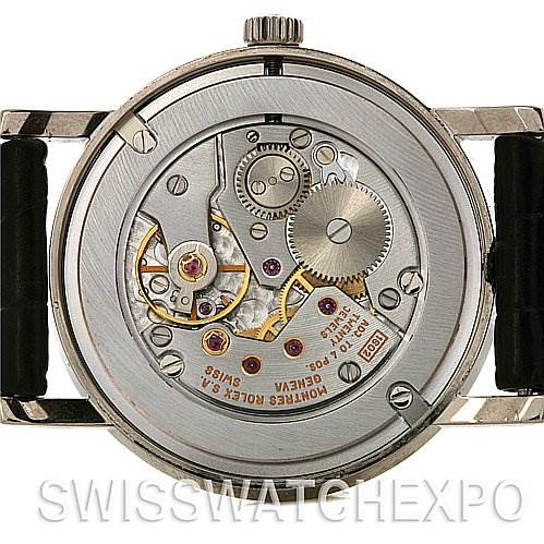 2574 Rolex Cellini Classic Mens 18k w Gold 5115/9 2001-2002 SwissWatchExpo