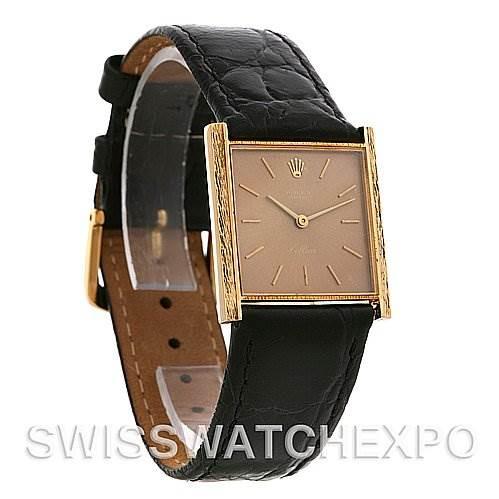 Rolex Cellini Vintage 18k Yellow Gold 3811 Year 1968 SwissWatchExpo