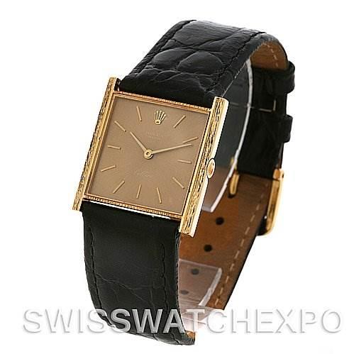 2551 Rolex Cellini Vintage 18k Yellow Gold 3811 Year 1968 SwissWatchExpo