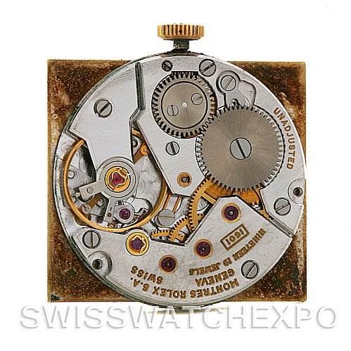Rolex Cellini Vintage 18k Yellow Gold 4014 Year 1975 SwissWatchExpo