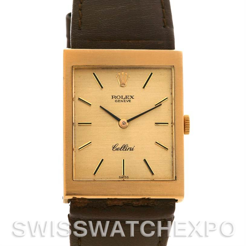 2503 Rolex Cellini Vintage 18k Yellow Gold 4014 Year 1975 SwissWatchExpo