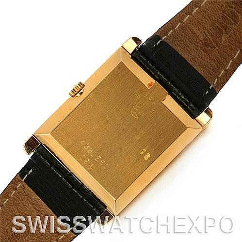2591 Rolex  Cellini Vintage 18k Yellow Gold 4105 Box/Papers SwissWatchExpo