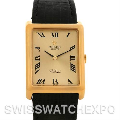 Photo of Rolex  Cellini Vintage 18k Yellow Gold 4105 Box/Papers