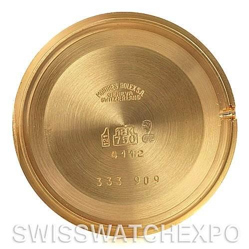 2635 Rolex Cellini Classic Mens 18k Yellow Gold 4112 Unworn SwissWatchExpo