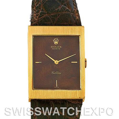 2502 Rolex Rolex Cellini vintage 18k yellow gold 4127 year 1945 SwissWatchExpo