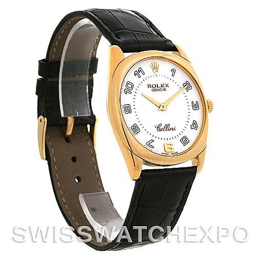 2685 Rolex CELLINI DANAOS 4233 18K YELLOW GOLD YEAR 2001-02 SwissWatchExpo