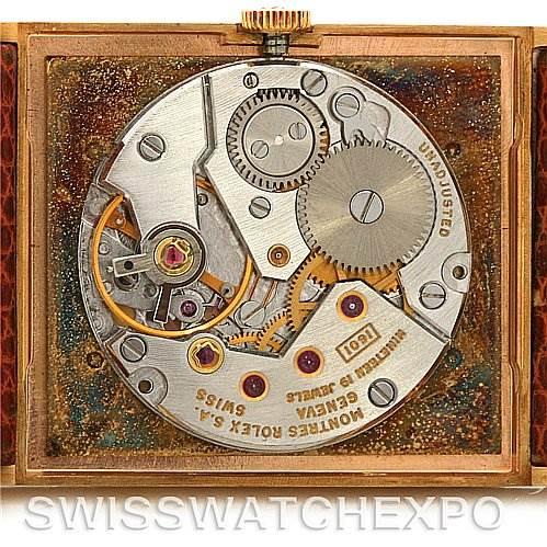 2688 Rolex  Cellini vintage 18k y gold 4027 year 1975 NOS SwissWatchExpo
