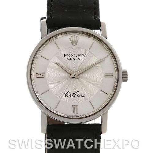Photo of ROLEX  CELLINI CLASSIC MENS 18K W GOLD 5115/9 1999-2000