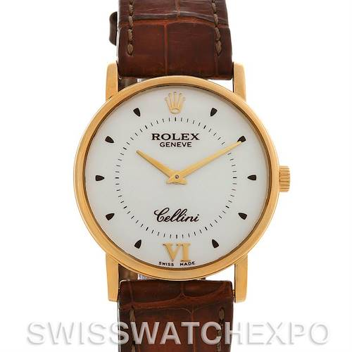 Photo of Rolex  Cellini Classic Mens 18K Yellow Gold 5115 2002