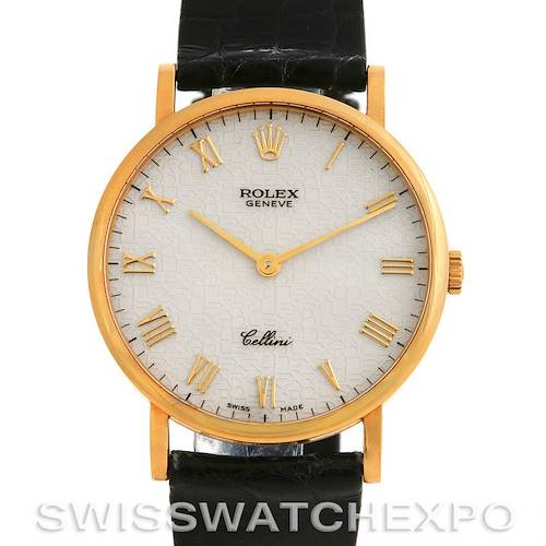 Photo of Rolex 18K YELLOW GOLD ROLEX CELLINI CLASSIC WATCH 5112
