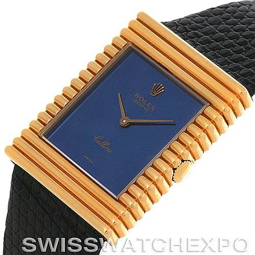 2902 Rolex  Cellini vintage 18K yellow gold watch 4012 unworn SwissWatchExpo