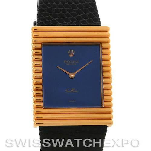 Photo of Rolex  Cellini vintage 18K yellow gold watch 4012 unworn