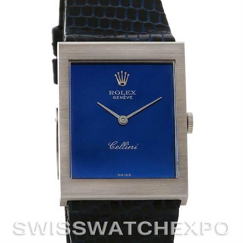 Photo of Rolex  Cellini vintage 18K white gold watch 4014 unworn