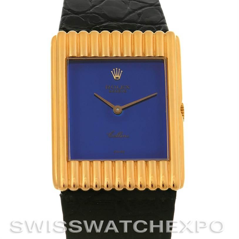 2919 Rolex Rolex Cellini vintage 18K yellow gold watch 4106 SwissWatchExpo