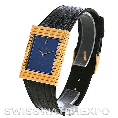 2950 Rolex Cellini vintage 18K yellow gold watch 4012 SwissWatchExpo