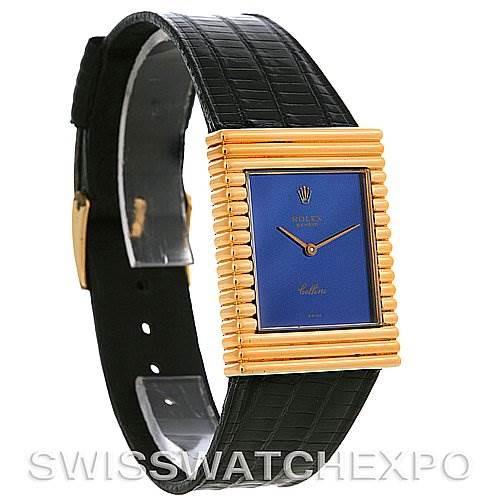 Rolex Cellini vintage 18K yellow gold watch 4012 SwissWatchExpo