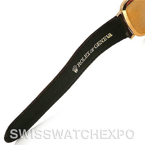 Rolex Cellini Vintage 18k Yellow Gold Watch 4114 SwissWatchExpo