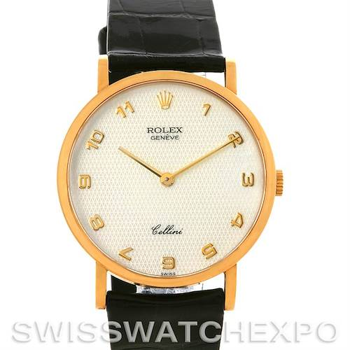 Photo of 18k Yellow Gold Rolex Cellini Classic Watch 5112