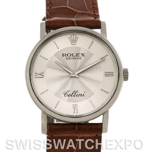 Photo of Rolex Cellini Classic Mens 18K White Gold 5115