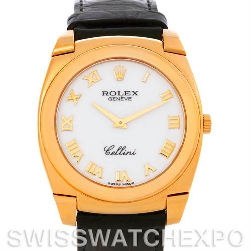 Photo of Rolex Cellini Cestello 18K Yellow Gold Mens Watch 5330