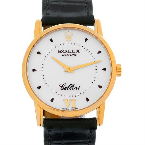 Photo of Rolex Cellini Classic 18k Yellow Gold Watch 5116
