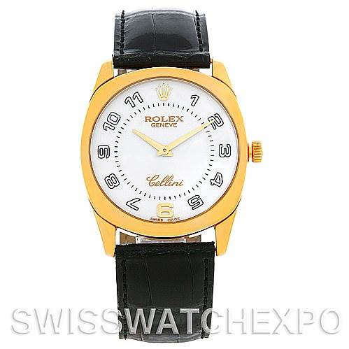 Rolex Cellini Danaos 4233 18k Yellow Gold Men's Watch SwissWatchExpo