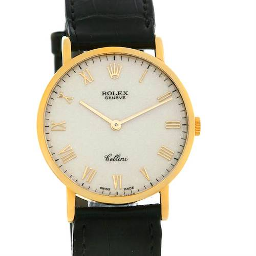 Photo of Rolex Cellini Classic 18k Yellow Gold Watch 5112