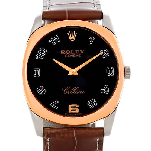 Photo of Rolex Cellini Danaos18k White and Rose Gold Watch 4233