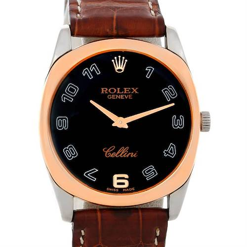 Photo of Rolex Cellini Danaos 18k White and Rose Gold Watch 4233