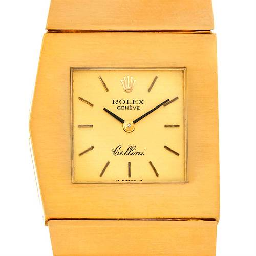 Photo of Rolex Cellini Midas 4017 Vintage 18k Yellow Gold Watch