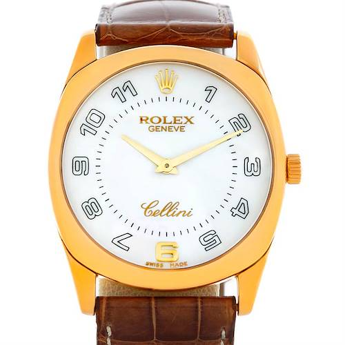 Photo of Rolex Cellini Danaos 4233 18k Yellow Gold Men's Watch