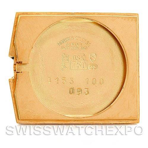 Rolex Cellini Midas Vintage 18k Yellow Gold Watch SwissWatchExpo