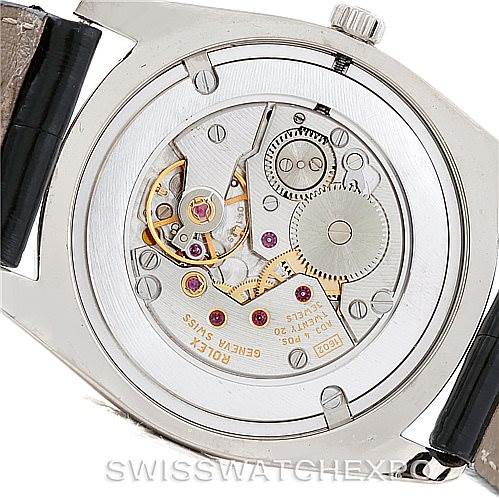 Rolex Cellini Danaos18k White and Rose Gold Watch 4233 SwissWatchExpo