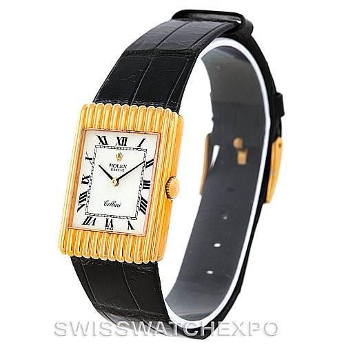 Rolex Cellini Vintage 18K Yellow Gold Watch 4016 SwissWatchExpo
