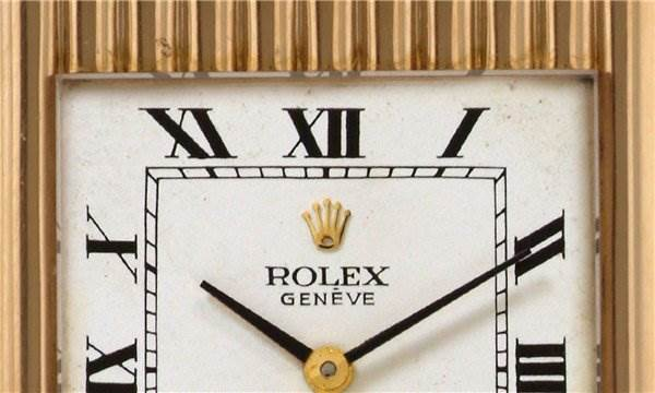 Rolex Mens 18k Yellow Gold Cellini 4016 - Super Rare SwissWatchExpo