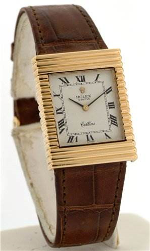 Rolex Mens 18k Yellow Gold Cellini 4012 - Super Rare SwissWatchExpo