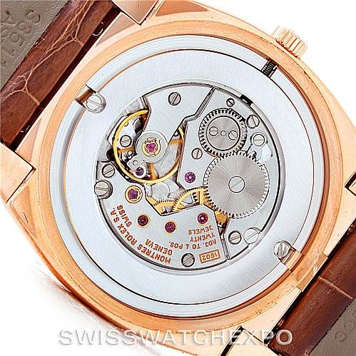 7289 Rolex Cellini Cestello 18K Rose Gold Watch 5330 SwissWatchExpo