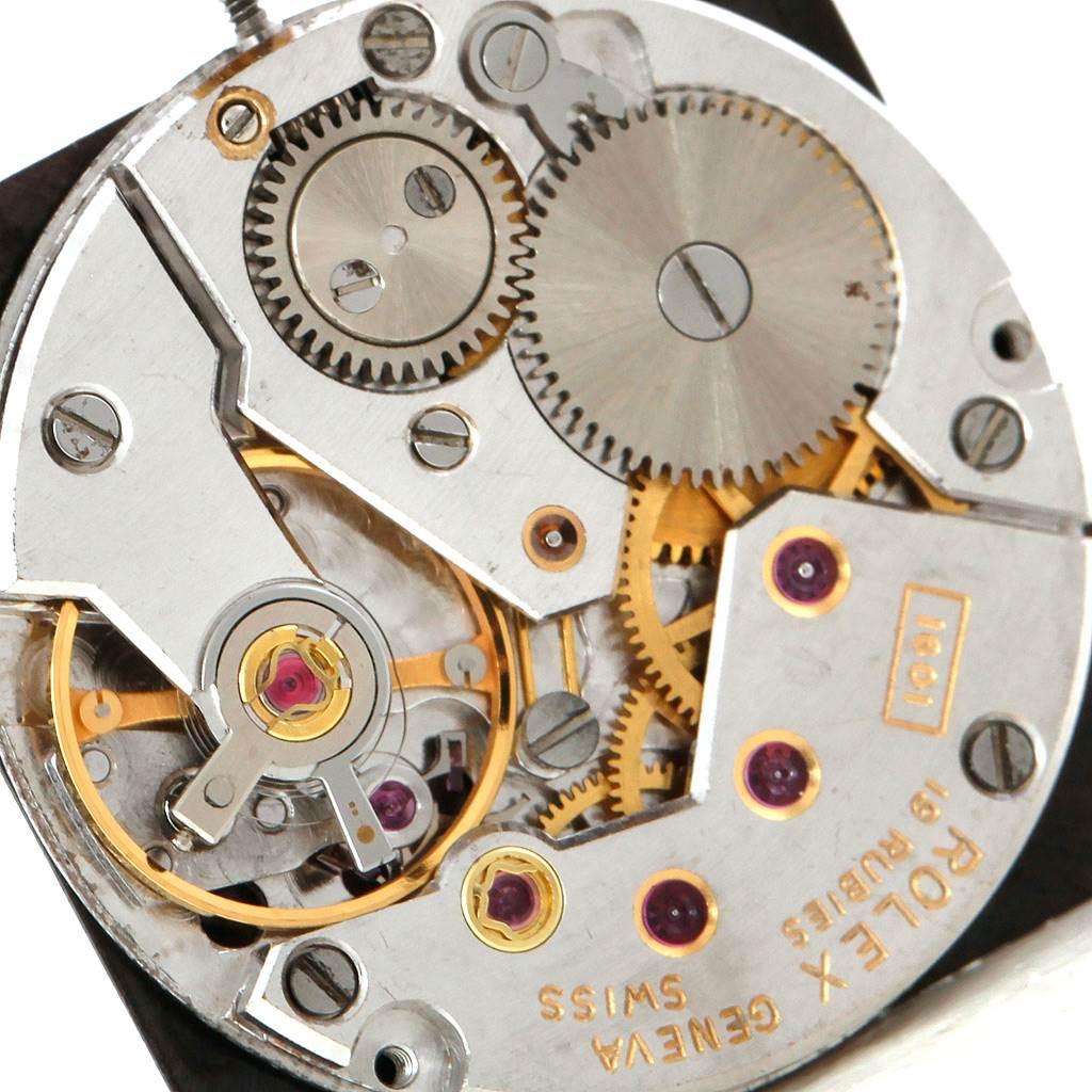 6236 Rolex Cellini King Midas Vintage 18k Yellow Gold Watch 4017 SwissWatchExpo