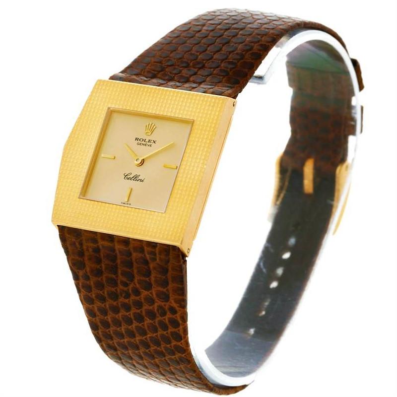 Rolex Cellini King Midas Vintage 18k Yellow Gold Watch 4126 SwissWatchExpo
