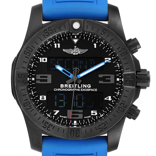 Photo of Breitling Exospace DLC Coated Titanium Mens Watch VB5510 Unworn