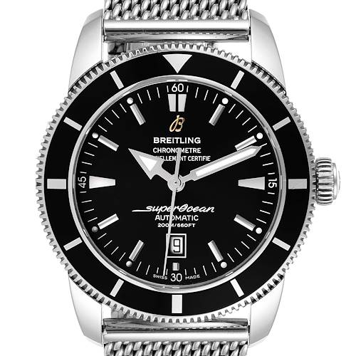 Photo of Breitling Superocean Heritage 46mm Steel Mens Watch A17320 Box Papers