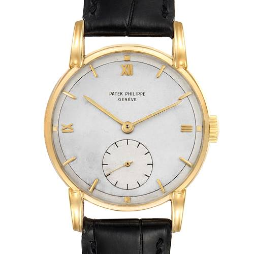 Photo of Patek Philippe Calatrava 18K Yellow Gold Vintage Mens Watch 2430