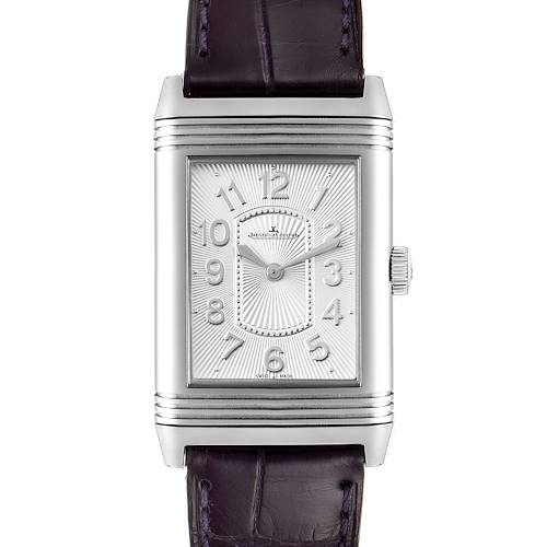 Photo of Jaeger LeCoultre Reverso Ultra Thin Steel Ladies Watch 268.8.47