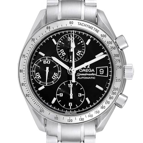 Photo of Omega Speedmaster Date 39mm Automatic Steel Mens Watch 3513.50.00