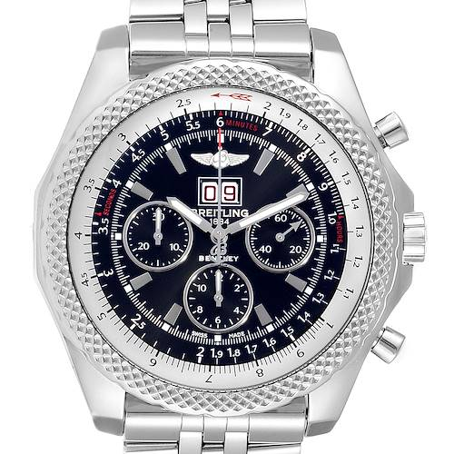 Photo of Breitling Bentley 6.75 Speed Black Dial Chronograph Mens Watch A44364